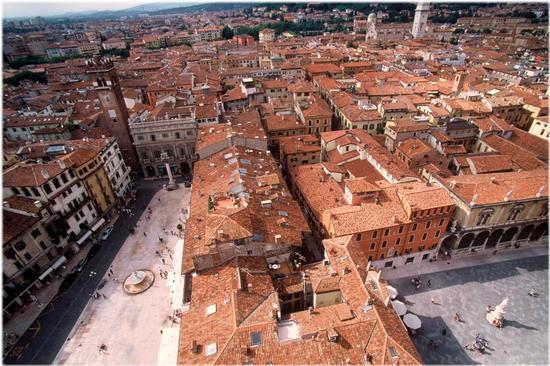 Veduta da torre dei Lamberti | VERONA | Fotografia di Carlo Franchini