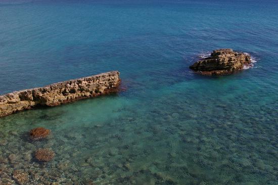 Il mare d'inverno, in Sicilia - Cassibile (3003 clic)