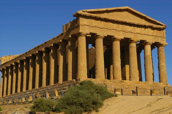 Tempio della Concordia - Agrigento (5830 clic)