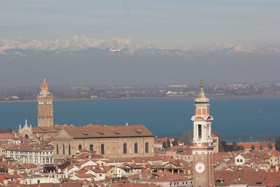 Veduta aerea di Venezia (830 clic)