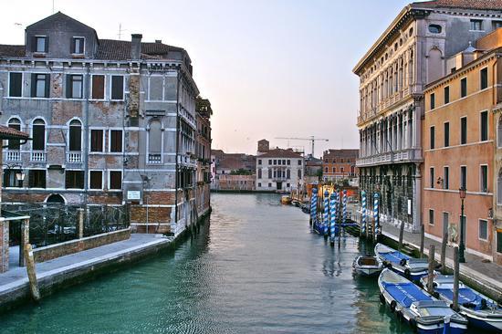 Canale di cannaregio - Venezia (2496 clic)