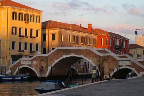 ponte dei tre archi - Venezia (3112 clic)