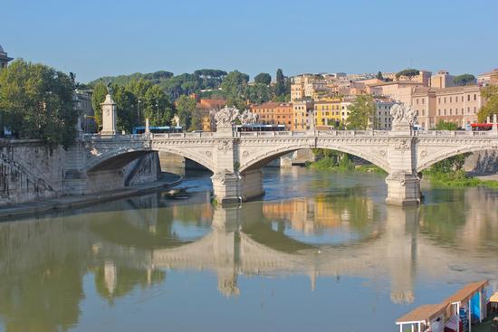 veduta roma castel s. angelo - ROMA - inserita il 06-Sep-10
