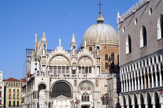 veduta bailica e palazzo ducale - Venezia (2761 clic)