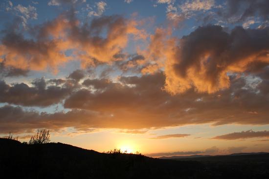 tramonto - Bettona (2929 clic)