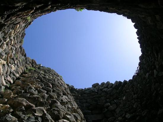 Dal nuraghe - Barumini (3272 clic)