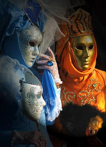 Coppia di maschere - Venezia (3192 clic)