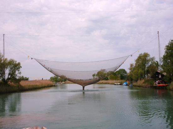reti dei pescatori della laguna - Marano lagunare (3852 clic)