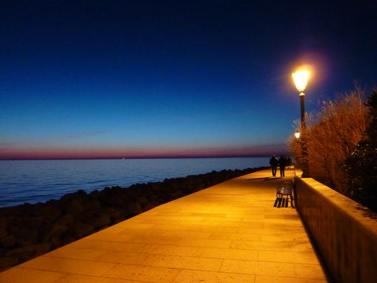 una romantica passeggiata  - Grado (4030 clic)