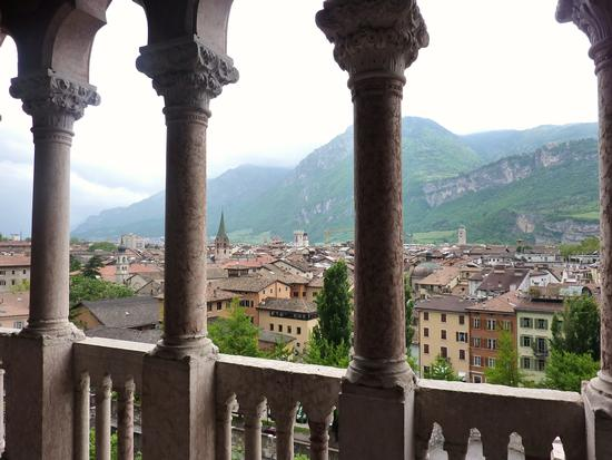Trento dal castello del Buonconsiglio (630 clic)