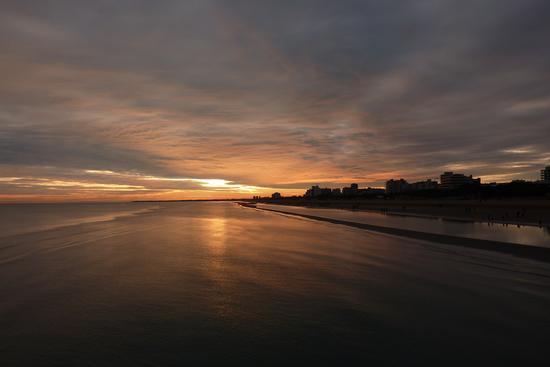 tramonto sul mare - Lignano sabbiadoro (4645 clic)