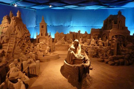 presepe di sabbia - Lignano sabbiadoro (4512 clic)