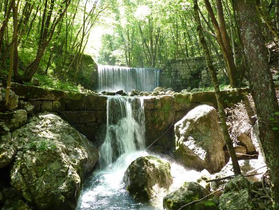 cascate orvenco - Artegna (4021 clic)