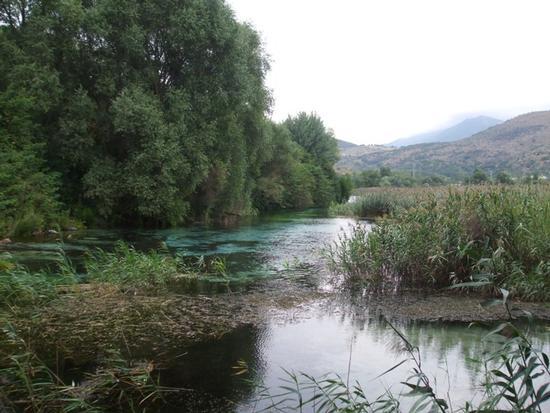 Sorgenti del fiume Pescara_Riserva Naturale - Popoli - inserita il 09-Aug-10