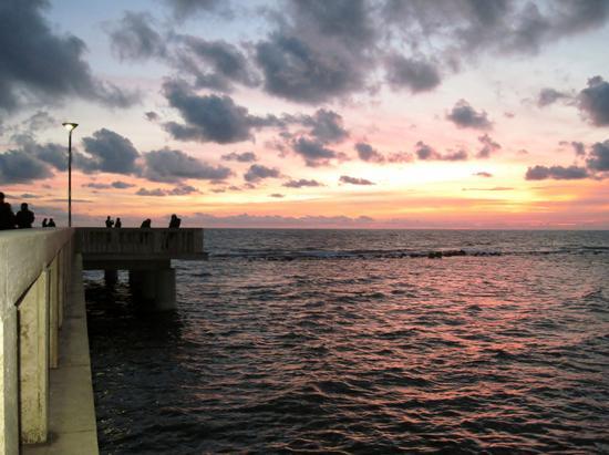 tramonto romantico - Ostia (2457 clic)
