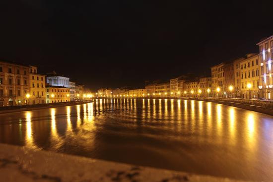 Arno in Piena - Pisa (6059 clic)