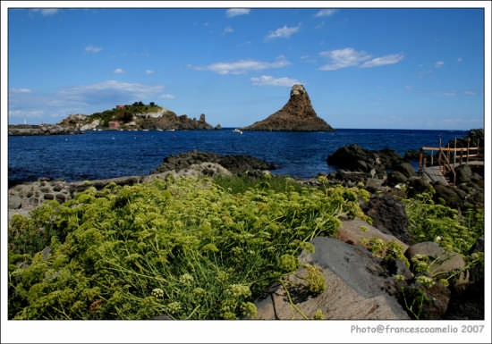 Isola Lachea  - Aci trezza (5701 clic)