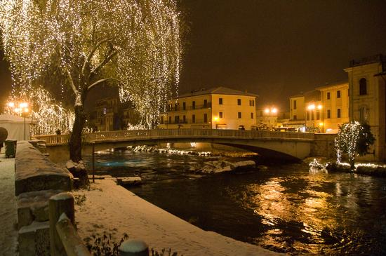 Lungo Velino-Ponte Romano semisommerso.  | RIETI | Fotografia di Giuliano Domeniconi