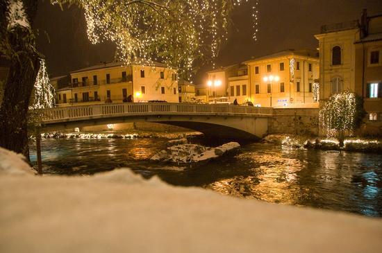 Lungo Velino-Ponte Romano semisommerso.  - Rieti (3853 clic)