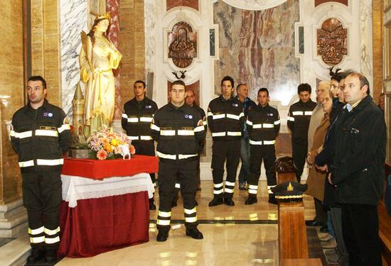 Santa Barbara in Agro Chiesa Nuova - Rieti (3118 clic)