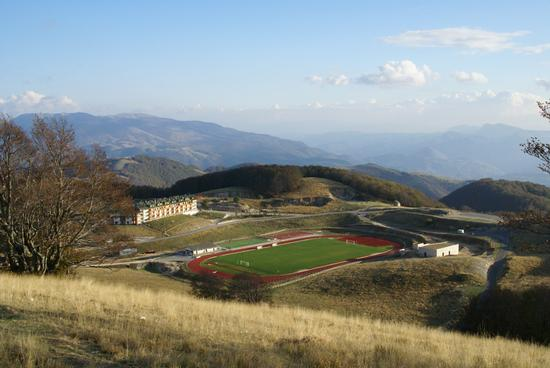 Campo di calcio sul Monte Terminillo  - Rieti (2820 clic)