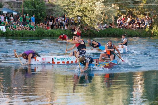 42a Festa del Sole - Barche sul Fiume Velino - Rieti (2879 clic)