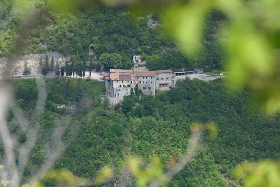 Santuario francescano di Poggio Bustone - RIETI - inserita il 24-Sep-10
