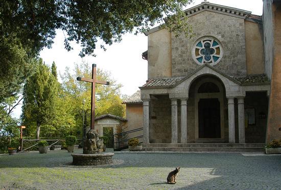 Santuario Francescano di Fonte Colombo - RIETI - inserita il 24-Sep-10