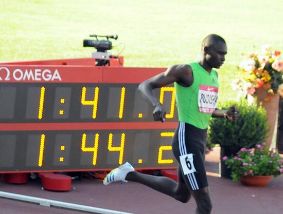 Record del mondo 800 metri - Rieti (1454 clic)