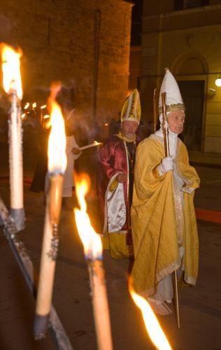 Papa Gregorio IX nella rievocazione - Rieti (1417 clic)