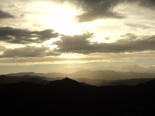 Tramonto - Subiaco (1333 clic)