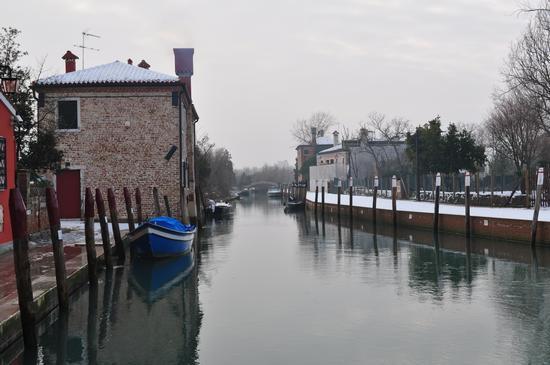 Un bel canale tipico di Venezzia - Torcello (2066 clic)
