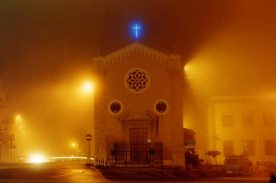 Facciata della Chiesa della madonna delle Grazie Alcamo (5375 clic)