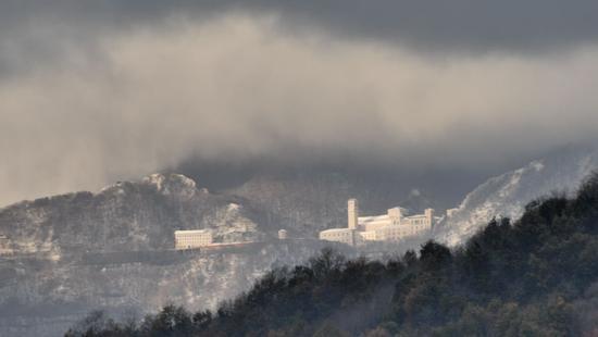 Montevergine, panorama - Mercogliano (1820 clic)
