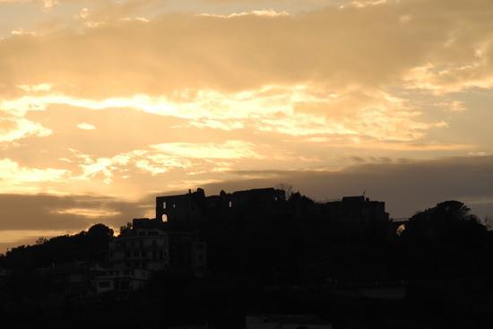 Tramonto al Castello - Agropoli (2286 clic)