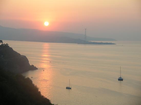tramonto di fine agosto 2008 - Scilla (4375 clic)