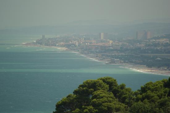 Panorama visto da Sirolo (2153 clic)