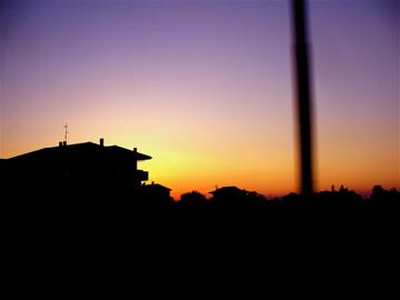 tramonto  - Rimini (1822 clic)