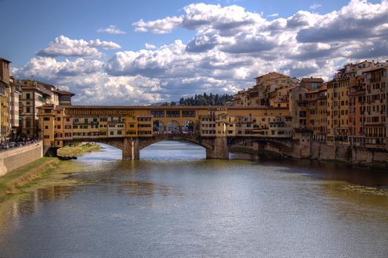 il ponte vecchio - Firenze (5782 clic)