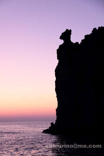 Strombolicchio al tramonto (3721 clic)