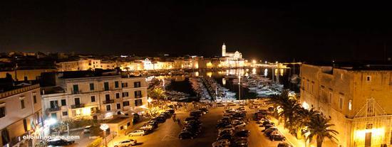 Panoramica notturna - Trani (5710 clic)