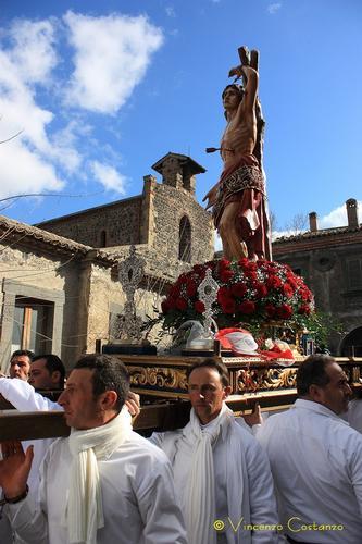 Festa san sebastiano - Maniace (2280 clic)
