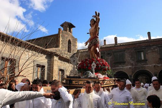 Festa san sebastiano - Maniace (4129 clic)