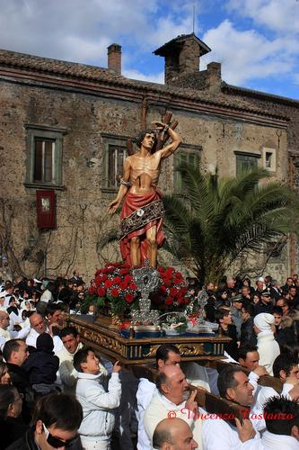 Festa san sebastiano - Maniace (3481 clic)