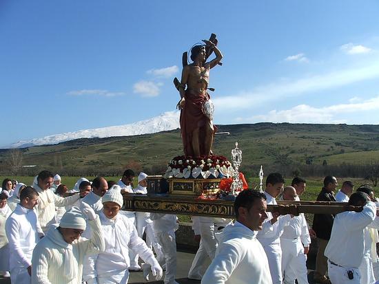 Festa San Sebastiano martire Maniace - MANIACE - inserita il 02-Feb-11