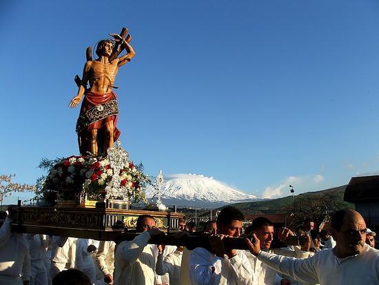 Festa San Sebastiano martire. Maniace (3563 clic)