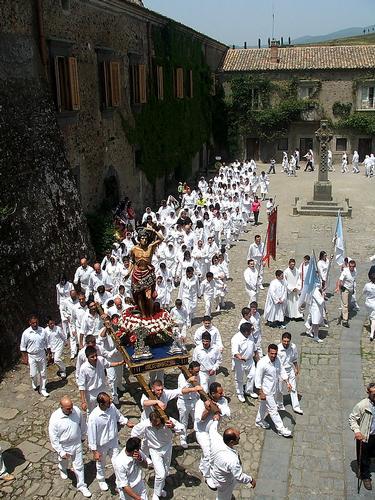 Festa San Sebastiano martire. CastelloNelson Maniace (3239 clic)