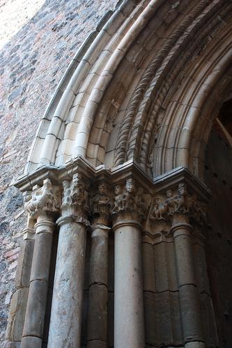 Castello Nelson Maniace. Particolare del portale (lato sx) (2851 clic)