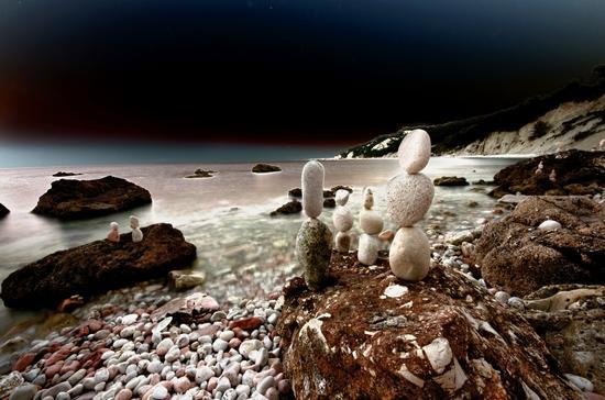 Spiaggia Sassi Neri - SIROLO - inserita il 16-Jul-12