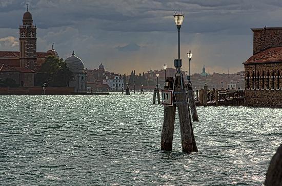 Il canal Grande con S.Giorgio e Dogana - Venezia (3346 clic)